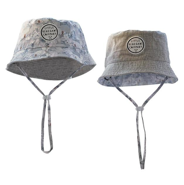 Little Renegade Company: Reversible Bucket Hat - Snowday (Maxi)