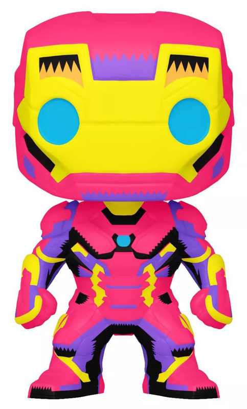 Marvel: Iron Man (Black Light) Pop! Vinyl Figure