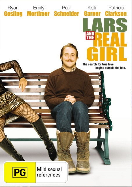 Lars and the Real Girl on DVD image
