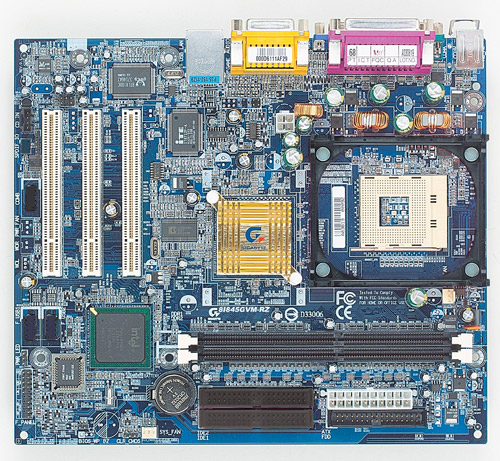 Gigabyte Motherboard Socket 478 Intel GA-8I845GVM-RZ image