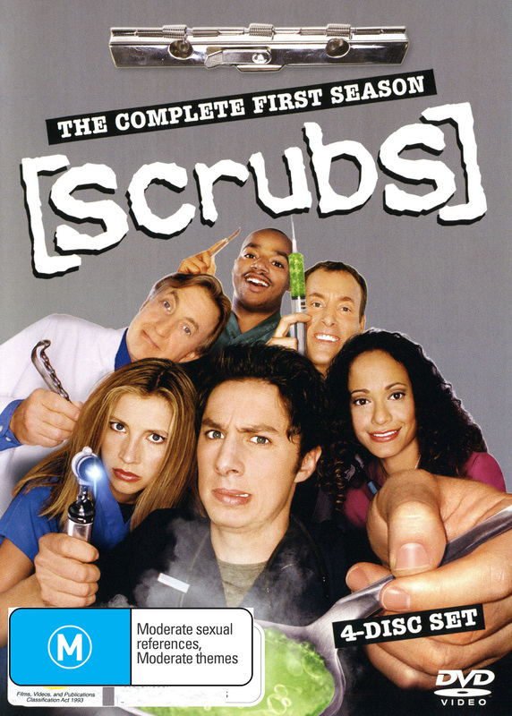 Scrubs - Season 1 on DVD