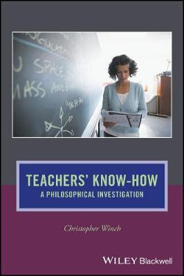 Teachers' Know-How by Christopher Winch image