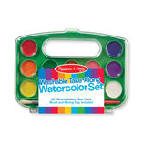 Melissa & Doug: Take-Along Watercolor Set
