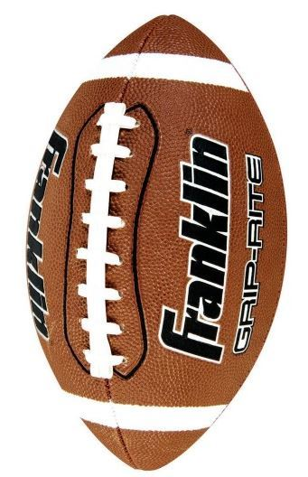 Franklin Grip-Rite Official Size American Football