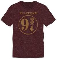 Harry Potter: Platform 9 3/4 - Vintage T-Shirt (Large)