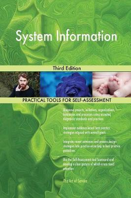 System Information Third Edition by Gerardus Blokdyk image