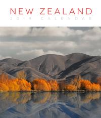 New Zealand 2019 Deluxe Wall Calendar