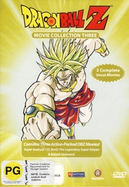 Dragon Ball Z - Movies 7-9 (3 Disc Box Set) on DVD