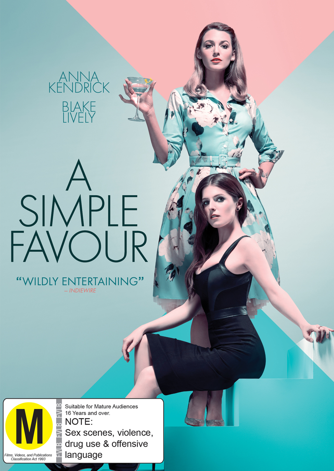 A Simple Favor on DVD image