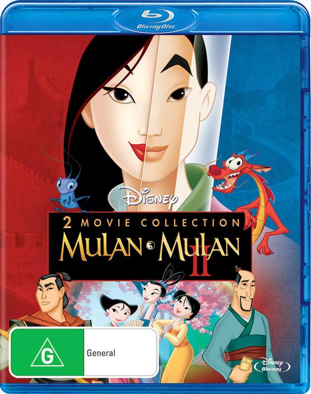 Mulan / Mulan 2 (2 Disc Set) on Blu-ray