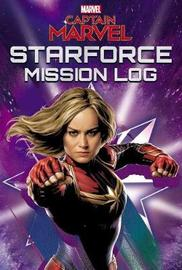 Marvel Captain Marvel Starforce Mission Log by Eleni Roussos