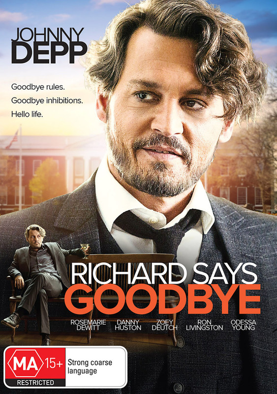 Richard Says Goodbye on DVD