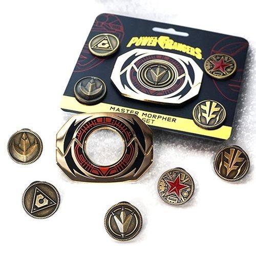 Power Rangers - Master Morpher Pin Set