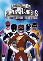 Ultimate Rangers  - The Best Of The Power Rangers on DVD