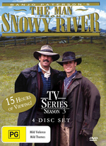 Man From Snowy River TV Series - Season 3 (4 Discs) on DVD