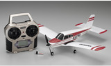 Kyosho Indoor Electric Powered Minium AD Piper Cherokee (Red)