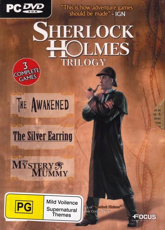Sherlock Holmes Trilogy (aka Sherlock Holmes Chronicles) for PC