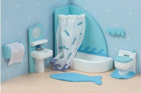 Le Toy Van: Sugar Plum Bathroom Furniture Set