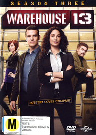Warehouse 13 - Season Three on DVD