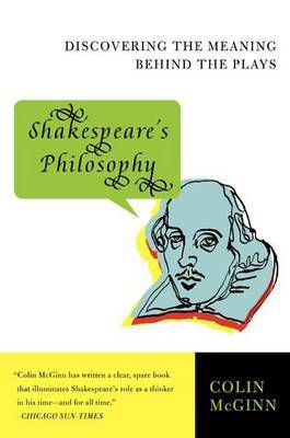 Shakespeare's Philosophy by Colin McGinn image