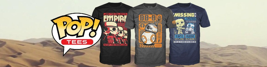 Star Wars Pop! Tees