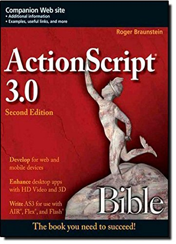 ActionScript 3.0 Bible by Roger Braunstein image
