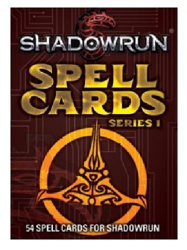 Shadowrun RPG: Spell Cards V1