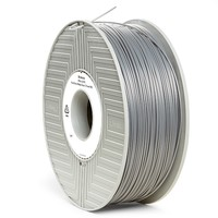 Verbatim 3D Printer PLA 1.75mm Filament - 1kg (Silver/Metal Grey) image
