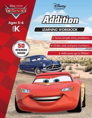 Disney Cars: Addition Learning Workbook Level K