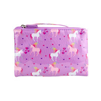 Wicked Sista Large Flat Purse - Love Unicorns