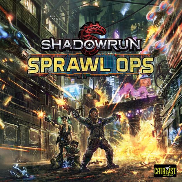 Shadowrun: Sprawl Ops - Board Game
