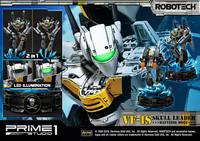 "Robotech: VF-1S Skull Leader (Battloid Mode) - 26"" Premium Statue image"
