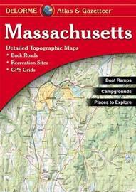 Massachusetts by Rand McNally