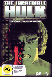 The Incredible Hulk - The Complete 1st Season (4 Disc Set) on DVD image