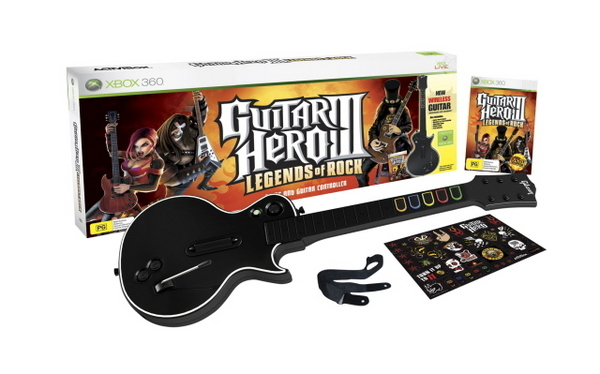 Guitar Hero III: Legends of Rock Bundle for Xbox 360