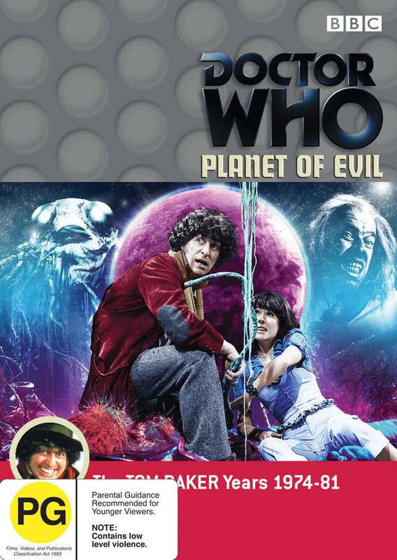 Doctor Who: Planet Of Evil on DVD