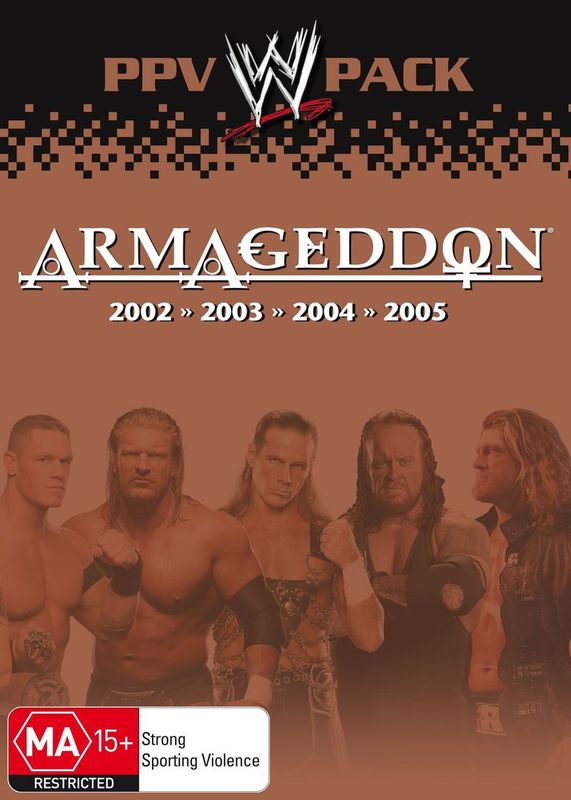 WWE- Armageddon PPV Pack on DVD