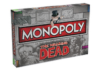 Monopoly - The Walking Dead Comic Survival Edition Board Game