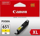 Canon Ink Cartridge - CLI651XLY (Yellow High Yield)