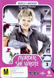 Murder, She Wrote - Season Three on DVD