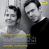 Beethoven: Piano Concertos Nos. 3 & 4 by Daniel Harding