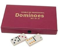 Double Six Dominoes in Vinyl Case image