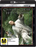 Crouching Tiger, Hidden Dragon (4K UHD + Blu-ray) DVD