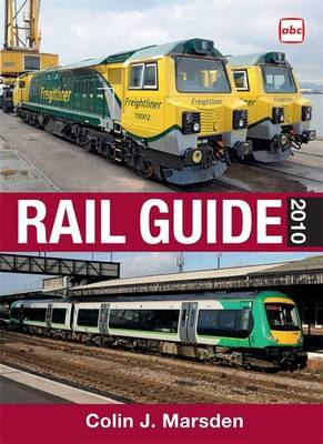 Abc Rail Guide: 2010 by Colin J. Marsden image