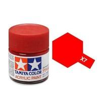 Tamiya Acrylic: Red (X7)