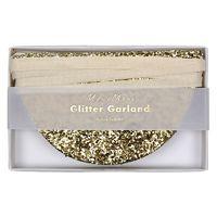 Garland - Gold Glitter