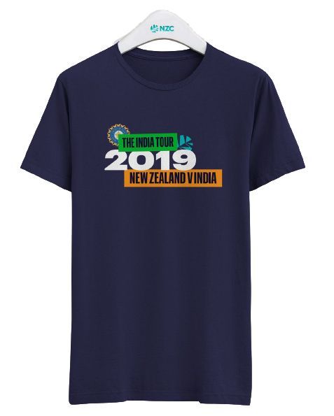 NZ Vs India 2019 Tour Tee (Large)
