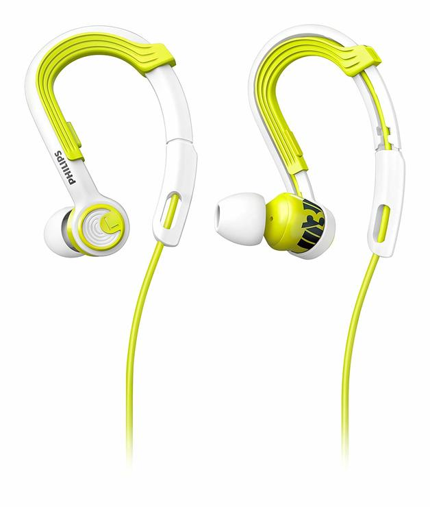 Philips Action Fit Sport Headphones (Lime/White)