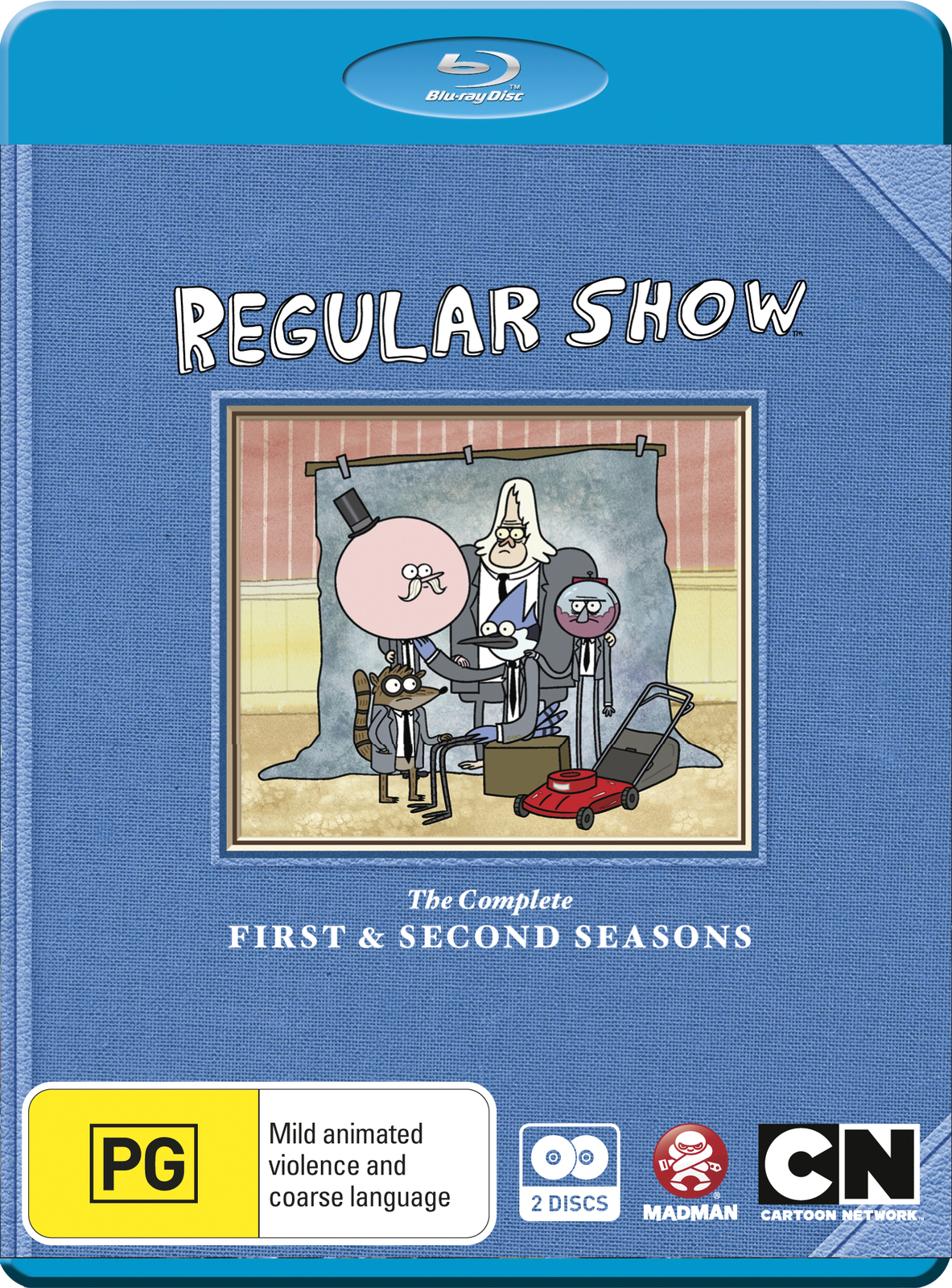 Regular Show - The Complete 1st & 2nd Seasons on Blu-ray image