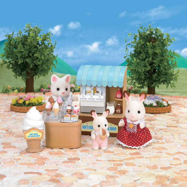 Sylvanian Families: Soft Serve Ice Cream Shop